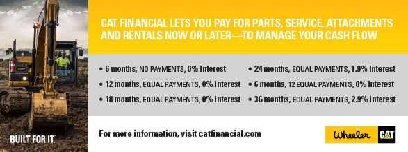 Cat Financial Rates List Banner