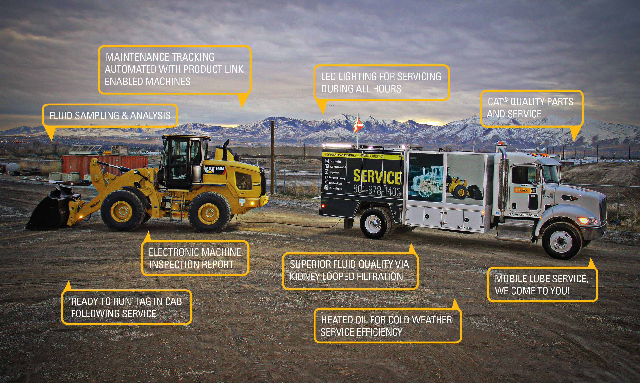 Lube-Service-Truck