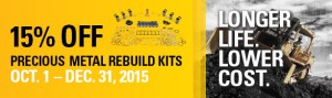 Precious Metals Rebuild Kit