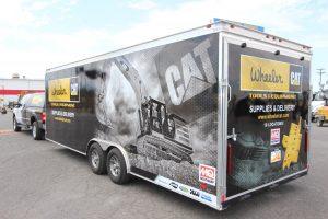 General Construction Tools & Equipment Trailer