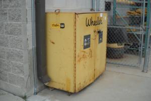 Wheeler CAT drop box outside building