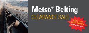 Metso Sale feat. Belting