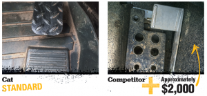 Cat Foot Throttle comes standard on Cat Machines