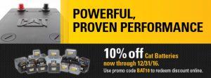 Cat-Batteries Sale