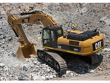 CAT EXCAVATOR UNDERCARRIAGE