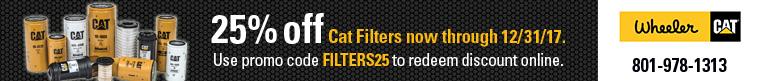 Cat Filters 25% off
