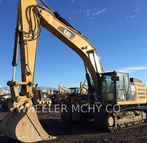 Used Cat Trackhoe