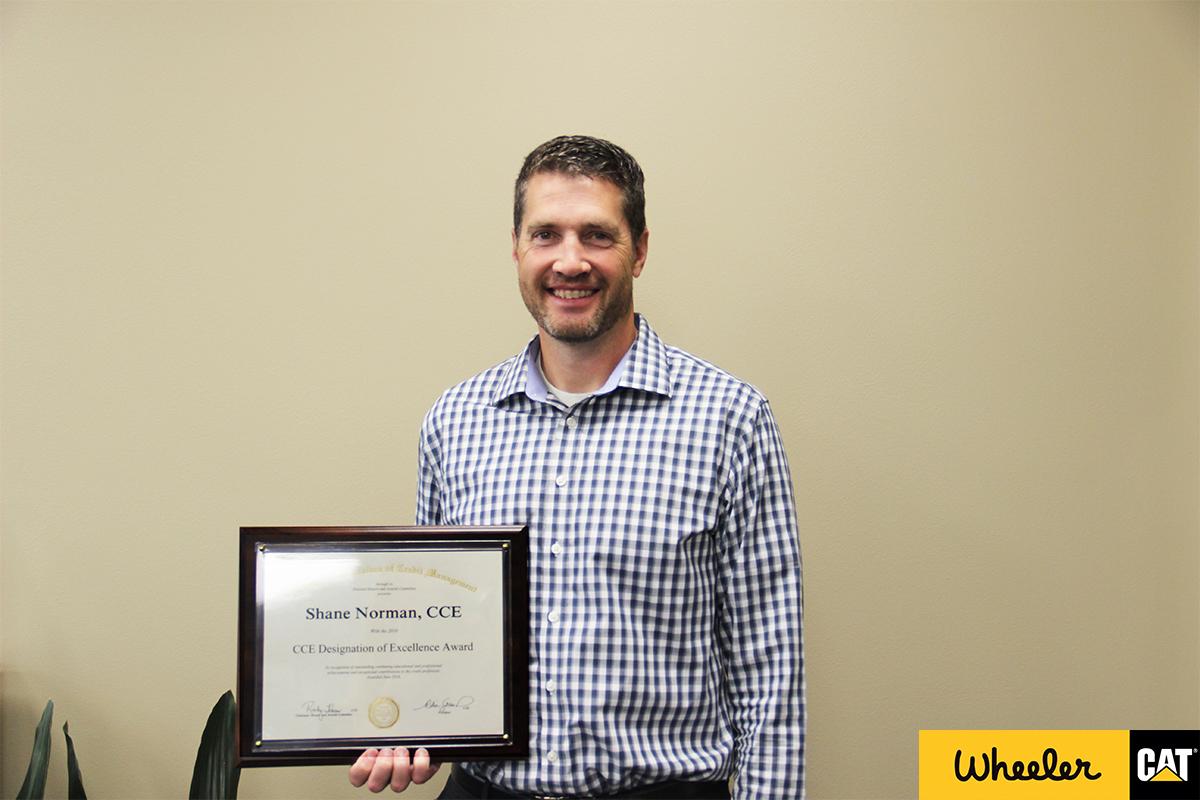 Shane Norman and Award