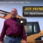 Caterpillar Excavator Undercarriage Tips and Tricks