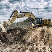 Large Cat Excavator