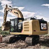 Medium Caterpillar Excavator