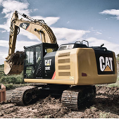 Medium Caterpillar Excavator