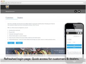 Desktop and Mobile Login