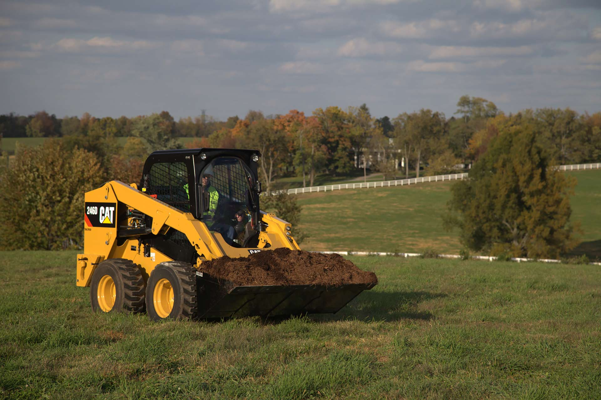 Cat 246D Skid Loader