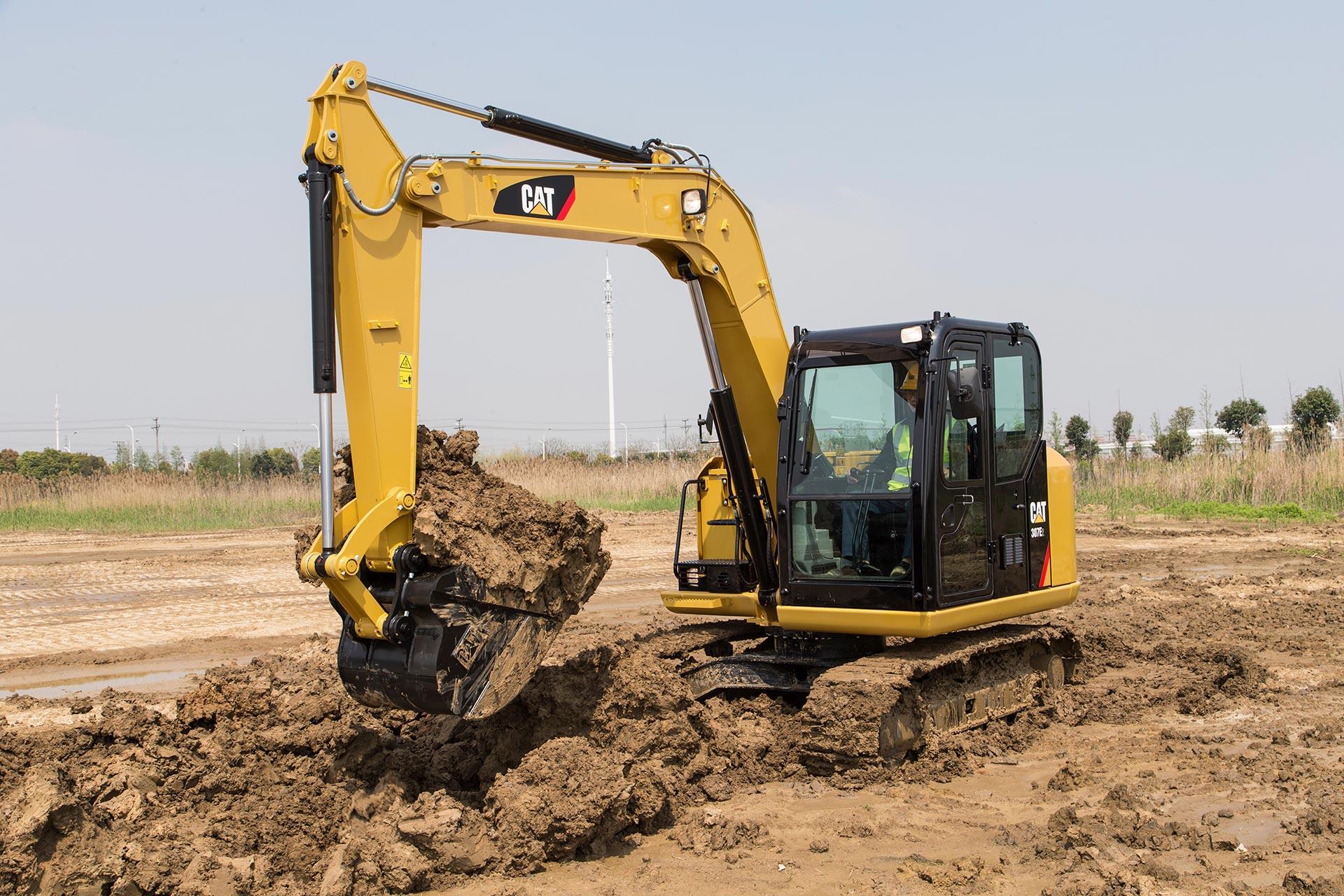 Cat 307E Mini Excavator