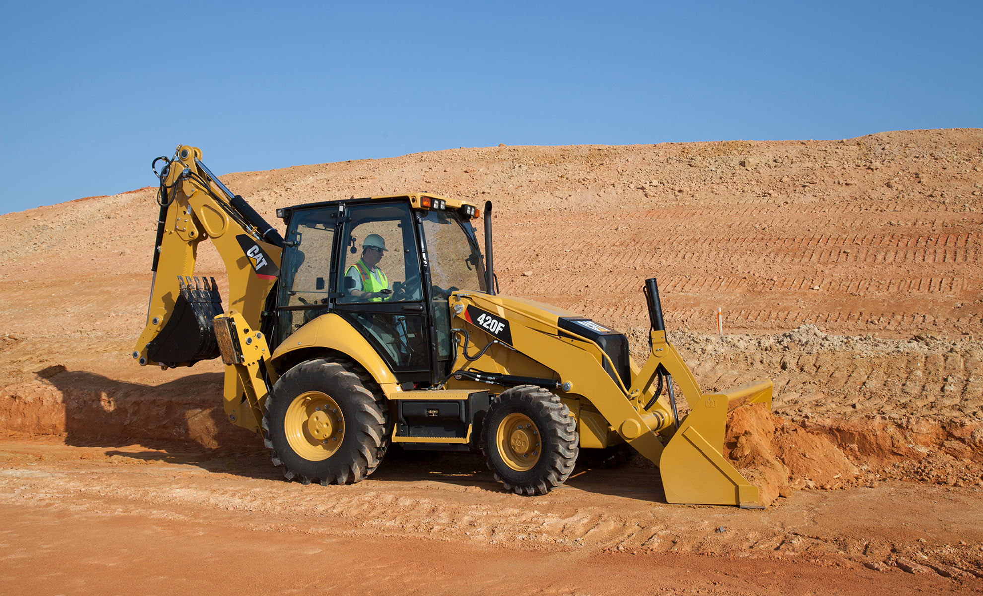 Cat 420F Backhoe Loader