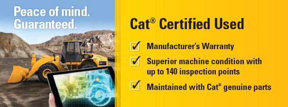 Cat Certified Used Construction Equipment