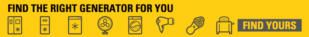 find the right CAT portable generator for you