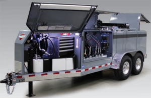 Thunder Creek Service and Lube Trailer