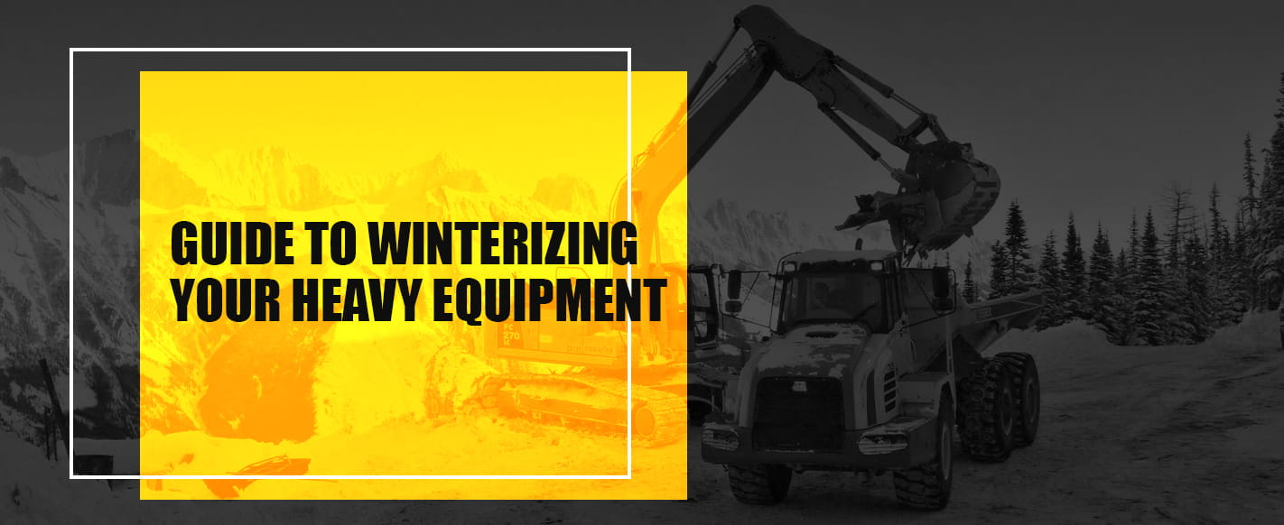 Guide on How to Winterize Your Heavy Equipment