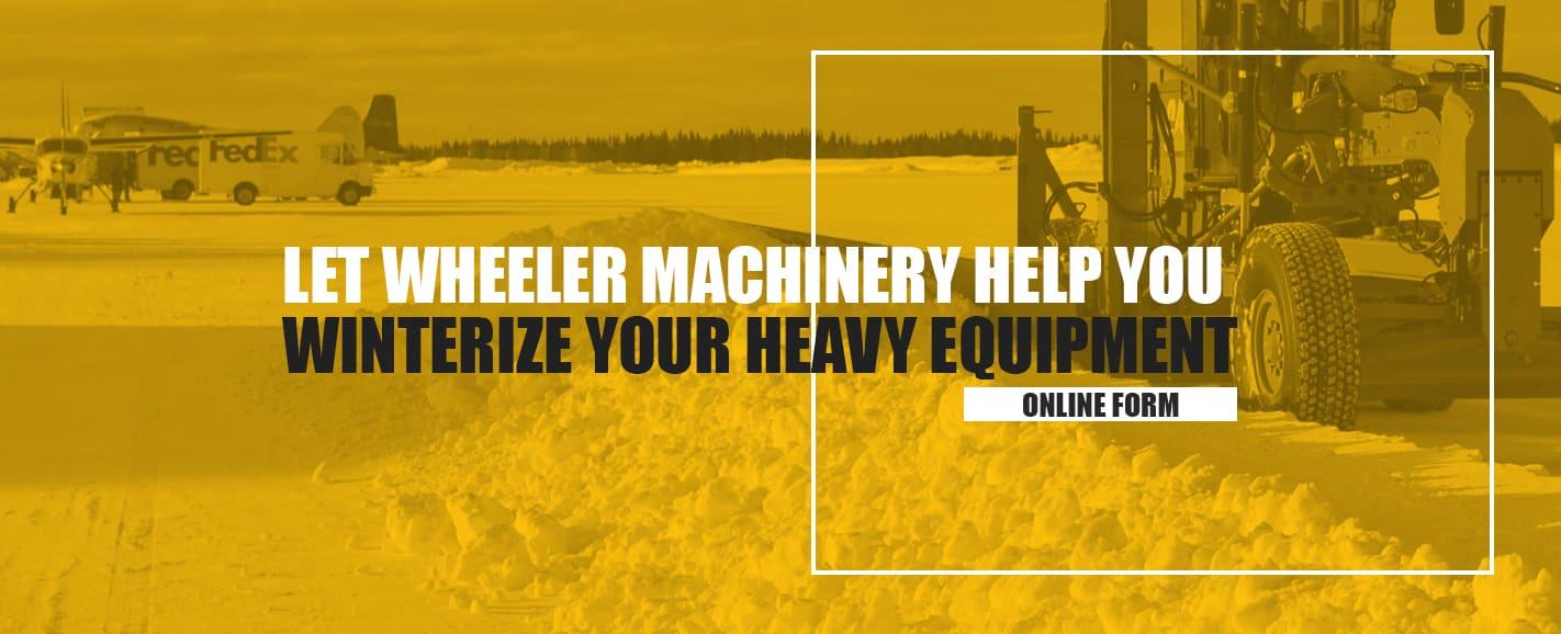 Wheeler Heavy Equipment Service and Maintenance