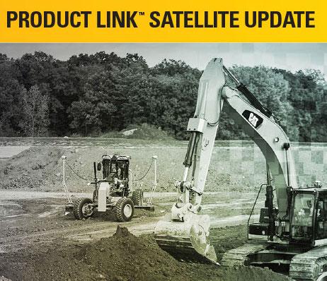 CAT Product Link satellite update