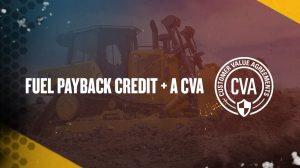 Fuel Payback Credit + A CVA
